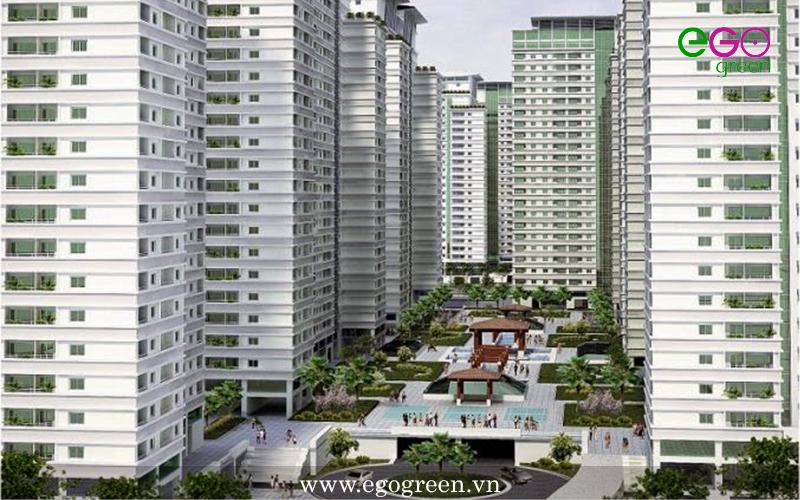 Thi công cảnh quan: Dự án Parkview Residence