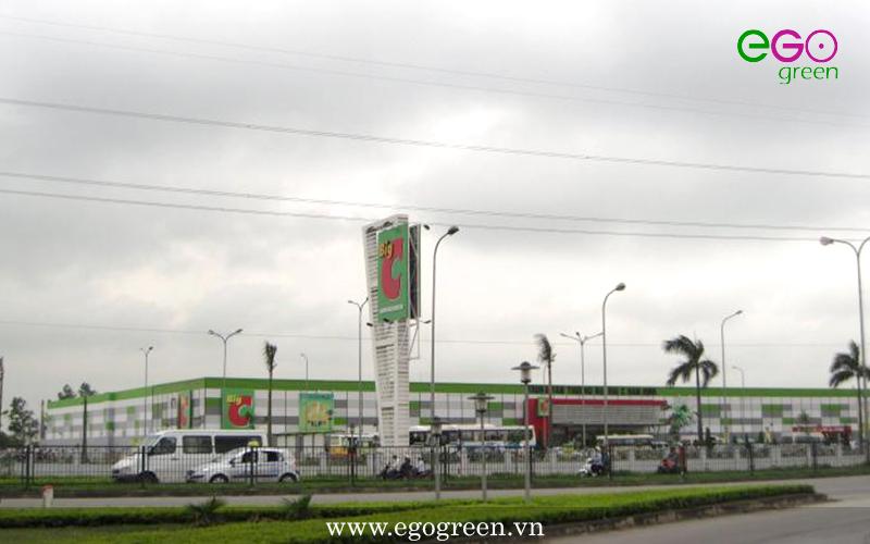 Hình ảnh trước thi công cảnh quan nút Lộc Hòa Nam Định