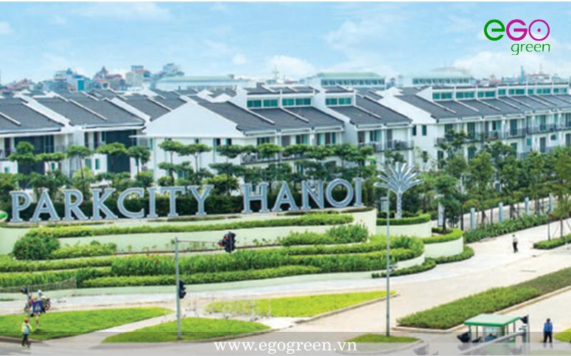 Thi công cảnh quan khu đô thị Park City Hà Nội