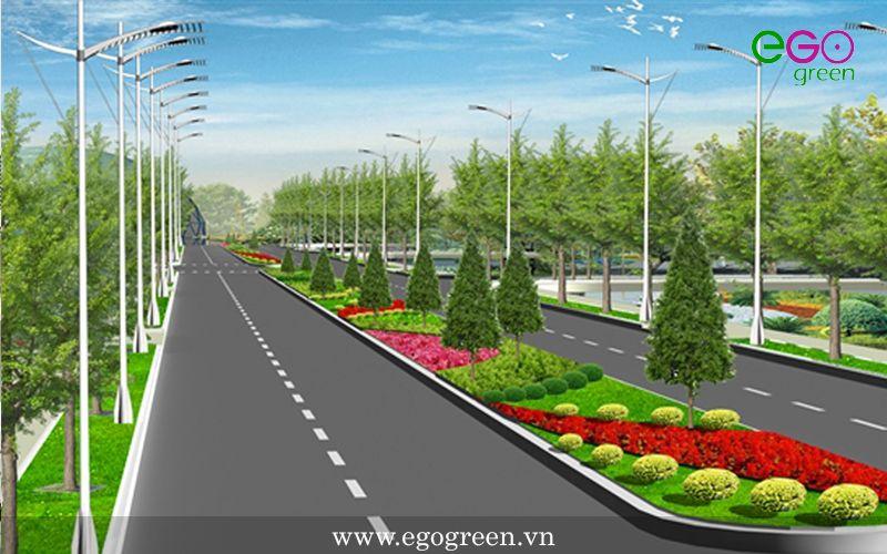 thiết kế cảnh quan tuyến phố