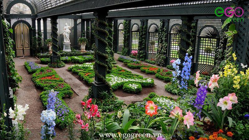 Các nguyên tắc thiết kế cảnh quan sân vườn bạn cần biết