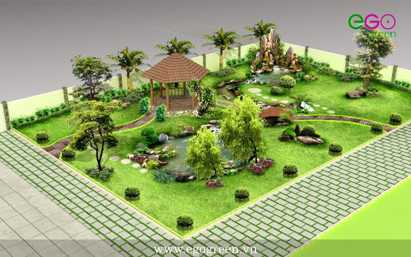 Dịch vụ bảo dưỡng chăm sóc cây xanh tại EGOgreen