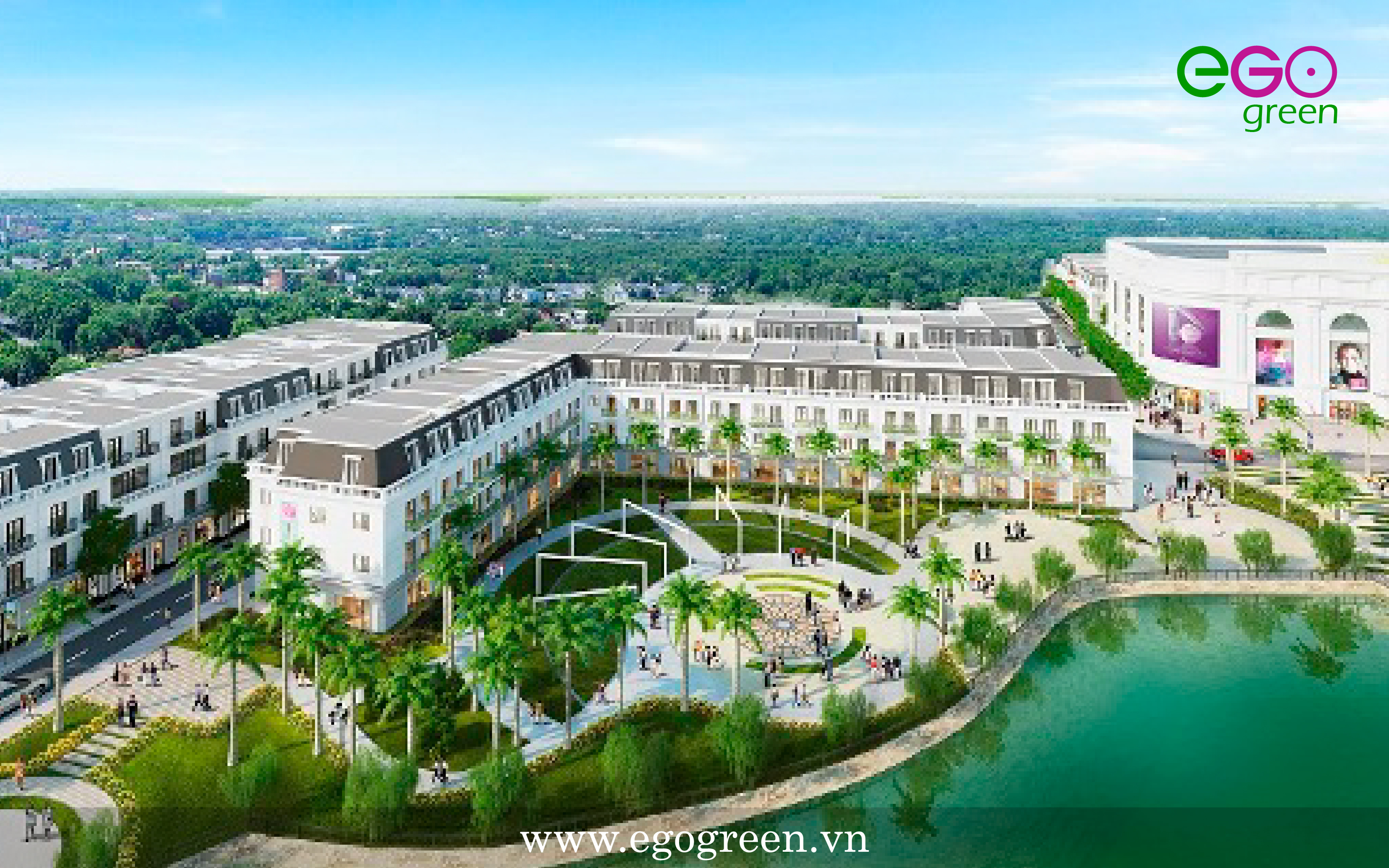 thiết kế cảnh quan công trình kiến trúc xanh vincom Yên Bái