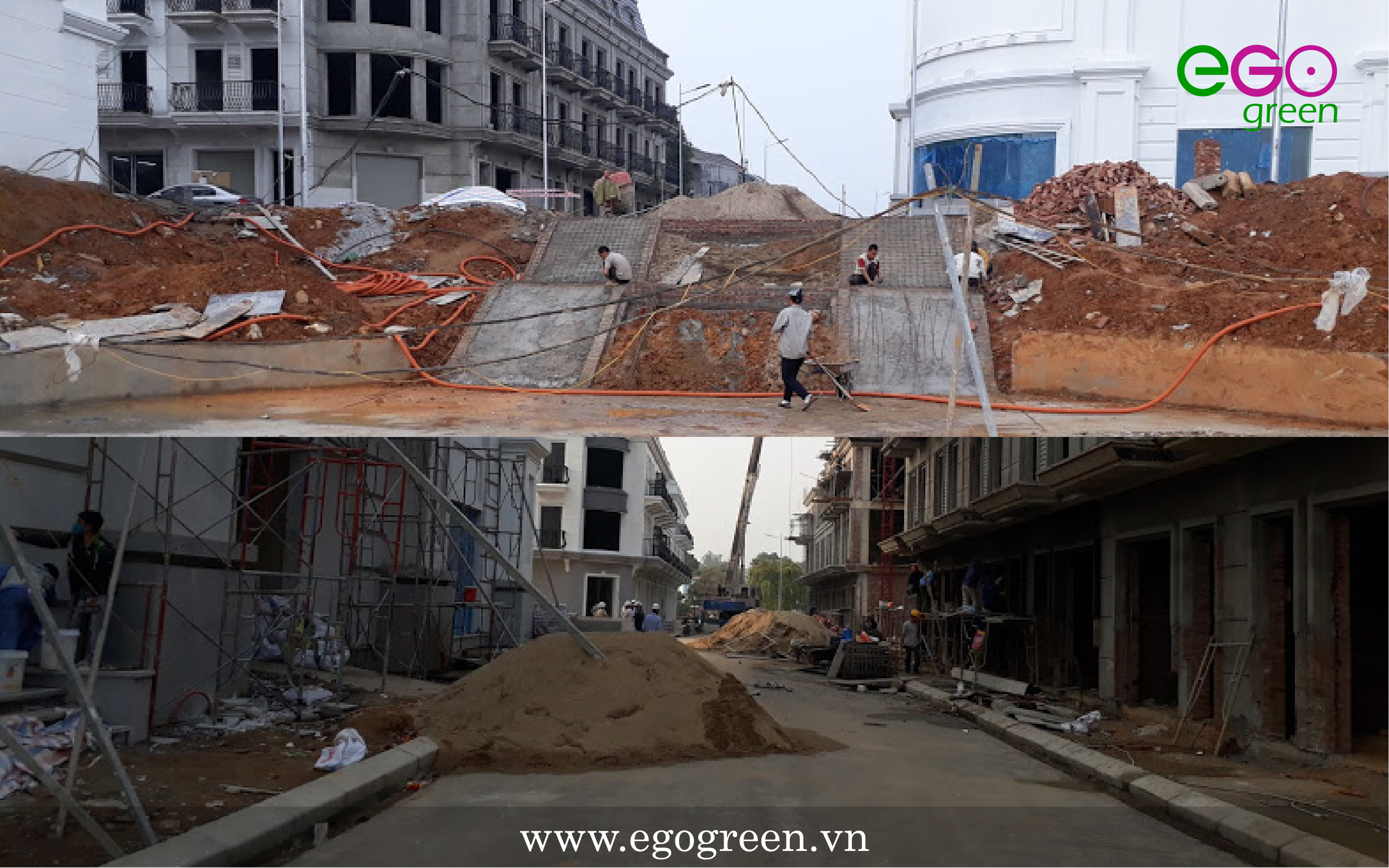 Thiết kế cảnh quan: Nhà phố thương mại hiện đại Vincom Yên Bái