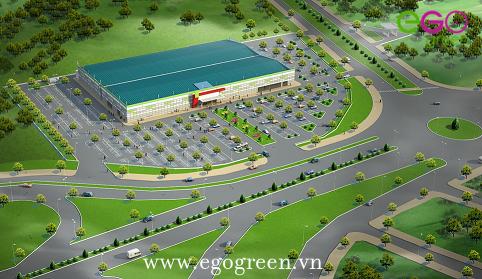 Hình ảnh tổng quan nút giao thông Lộc Hòa Nam Định