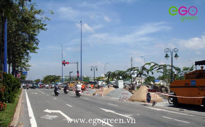 Hình ảnh thi công nút giao thông Lộc Hòa Nam Định