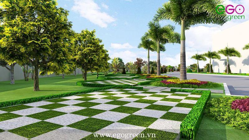 thiết kế và thi công cảnh quan sân vườn